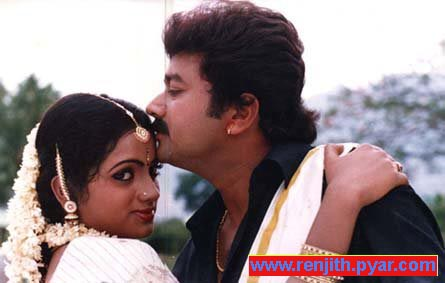 Sobhana with Jayaram